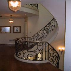 Iron Stair Rails