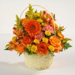 Sunshine Surprise Flower Basket #EV 6-11