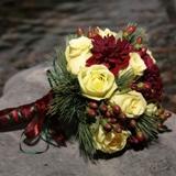 Dahlia Rose Bouquet