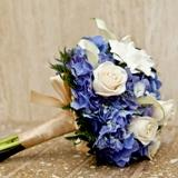 Blue Snow Bouquet