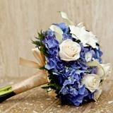 Blue Snow Bouquet