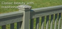 EverGrain® 2x4 Traditional Railing System