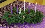 Elegant fresh candle