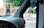 Curbside mirror