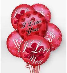 I Love You Balloon Bunch EO-6102
