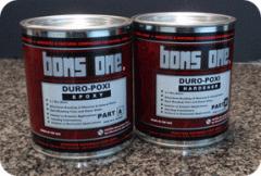 Duropoxi two-component, exterior grade, non-sag