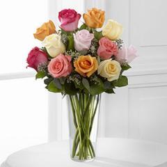 The FTD® Graceful Grandeur™ Rose Bouquet E8-4810