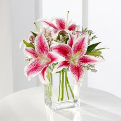 The FTD® Pink Lily Bouquet S22-4298