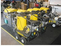 Gas Powered Pressure Washers are your best option