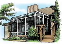 Ventilated Solarium Design