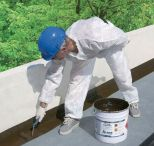 Liquid applied waterproofing