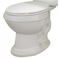 Elongated 6-L toilet bowl