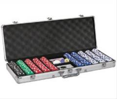Texas Hold'em Poker Chip Set