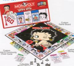 Betty Boop Monopoly Board Game