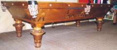 1910 Antique Pool Table