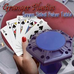 7-Sided Poker Table
