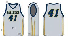 Point guard basketball uniform