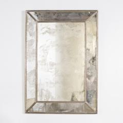 Silver Leaf Rectangular Antique Mirror