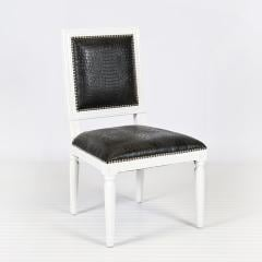 Black Square Dining Chair