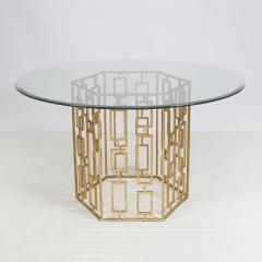 Jackson Gold Leaf Dining Table