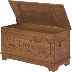 Wood Toy Chest