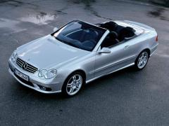 2009 Mercedes-Benz CLK-Class Cabriolet Convertible