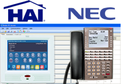 HAI Integration on NEC DSX Phone Systems