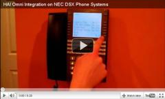 HAI Integration on NEC DSX Phone Systems -