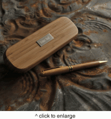 Personalized Bamboo Pen Set
