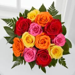 Simply Cheerful Mixed Rose Bouquet WGF488