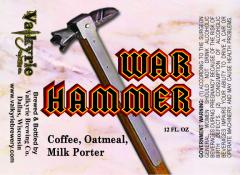 War Hammer Coffee, Oatmeal, Milk Porter