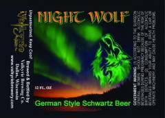 Night Wolf German Schwartz Beer