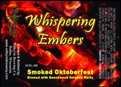 Whispering Embers Oktoberfest Beer