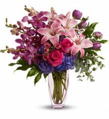 Teleflora's Purple Perfection Bouquet T53-1A