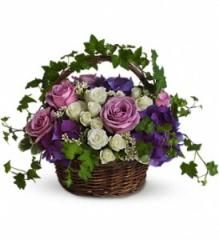 A Full Life Flower Basket T211-1A