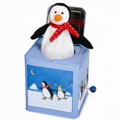 Percy Penguin Jack in the Box