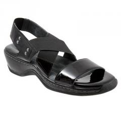 SoftWalk's Agoura Leather Sandals