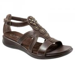 SoftWalk's Tahiti Leather Sandals