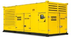 Containerized, on-site generators, 800-1000 kVA