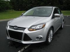 2012 Ford Focus Titanium Sedan Car
