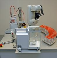 Automated robotic titration (Tix)