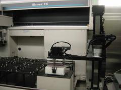 Nested pipette tip server robot, Trx