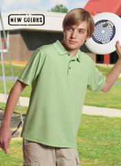 Youth Solid Polo