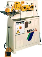 Geka Single Cylinder Ironworkers