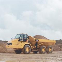 Articulated Truck Cat 740