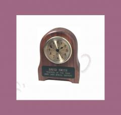 26B Styled Walnut Desk Clock
