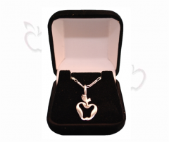 APP1 .925 Sterling Silver Pendant & Chain
