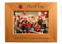 1C Thank You Wood Frame