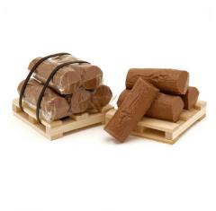 Pallet of Logs Мilk Сhocolate
