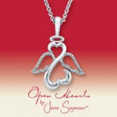 Open Hearts by Jane Seymour® Angel Diamond